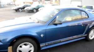 2000 blue mustang 2000 blue mustang v6 coupe for sale 4195 sold