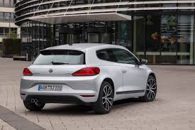volkswagen scirocco 2016 white vw details facelifted scirocco releases 50 new pics