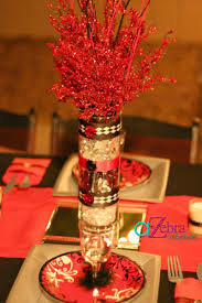 Centerpieces Birthday Tables Ideas by 15th Birthday Centerpiece Http Atozebracelebrations Com 2013 04
