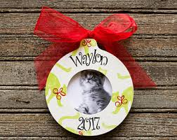 cat ornament etsy