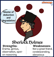 Good Personality Traits For A Job Sherlock Holmes In The Hound Of The Baskervilles