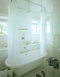 Shower Curtain Clawfoot Tub Solution 80 Best Bathroom 2 Images On Pinterest Bathroom Ideas Bathroom