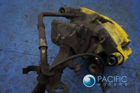 lexus yellow brake calipers set rear brake caliper u0026 bracket yellow paint oem jaguar xj xk xf
