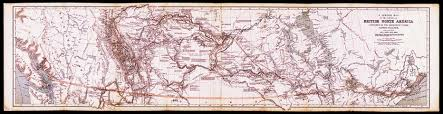 Stanford Maps Archived Palliser U0027s Map Of North America 1865 By Edward