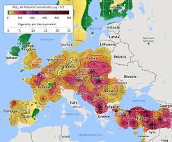 Europe Temperature Map Berkeley Earth