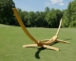 furniture hammock stands with metal material and brass color