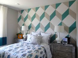 Bedroom Accent Wall Painting Ideas Delightful Wall Paint Ideas