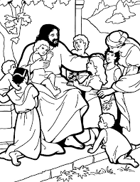 free coloring pages jesus teaches pray 2016 ideas