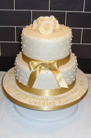 golden wedding cakes golden wedding anniversary cake cakecentral