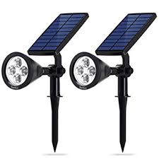 amazon com syntus upgraded solar lights landscape lighting led