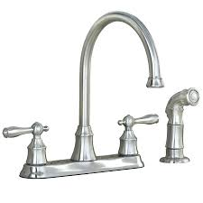 Kitchen Pull Down Faucet by 3 Hole Kitchen Faucet Home Design Ideas And Pictures
