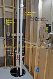 sewage pump for basement bathroom basements ideas