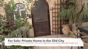 private home for sale shonei halachot old city jerusalem youtube