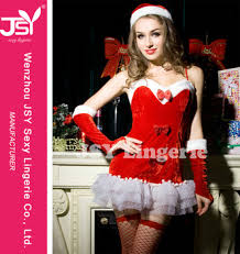 new jsy 8733 fancy santa claus christmas costumes for