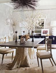 dining room table base omfg that table tree trunks pinteres
