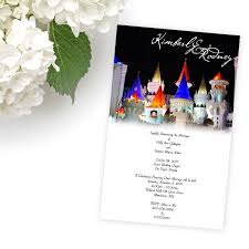 vegas wedding invitations las vegas wedding invitations excalibur invitations by r2