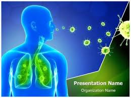 powerpoint design lungs lung infection powerpoint template is one of the best powerpoint