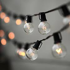 Edison Bulb Patio String Lights Lampat String Lights Vintage Backyard Patio Lights With 25 Clear