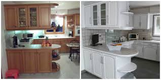 cuisine en chene repeinte avant après apportez de la lumière à votre cuisine avec une