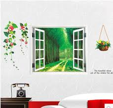 wall decoration sticker home room wallpaper pastoral plant vines