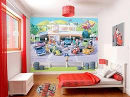 Kid Bedroom Ideas Kids Bedroom Roar Cartoon Wallpaper Kid Bedroom Design With
