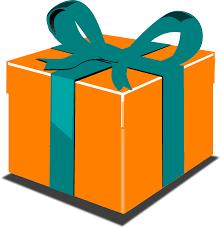 gift box bows gift box package ribbon bow png image picpng