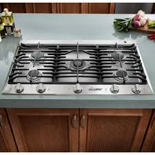 Design Ideas For Gas Cooktop With Downdraft Kitchen Downdraft Gas Ranges With Brown Wood Cabinet Also White