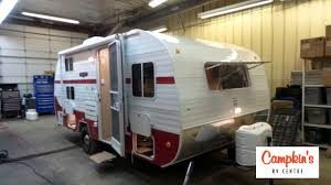 Retro Campers by Campkin U0027s Presents White Water Retro 181 Red White Bunk House