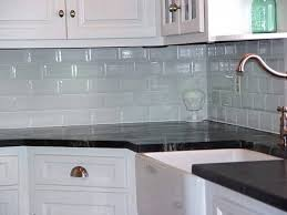 glass and stone tile mosaic what finish paint to use on kitchen