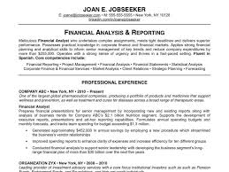 Banking Business Analyst Resume Financial Professional Resume Template Virtren Com