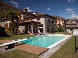 princess villa modern holiday house with pool and spa on lake como