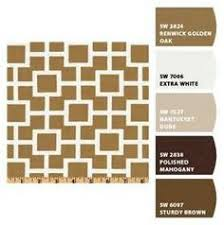 tricorn black neutral ground and polished mahogany paint colors