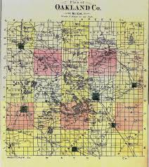 Warren Michigan Map by Lions Michigan History