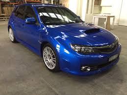 wrx subaru 2009 2009 subaru impreza wrx sti r my08 car sales vic melbourne 2695802