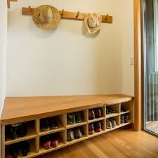 shop with coat rack shoe storage bench plan benches and