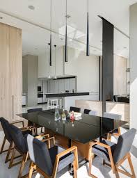 Pendant Lighting Over Dining Table Apartment Dining Room Mexico City Apartment By Archetonic Design