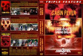 cabin fever triple feature dvd cover 2002 2014 r1 custom