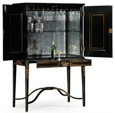 Gold Bar Cabinet Black And Gold Drinks Cabinet Traditional Wine And Bar