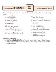 apostrophes and hyphens ten minute grammar unit 27 bell