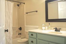 simple bathroom makeover ideas on a budget on small home remodel
