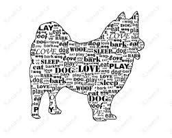american eskimo dog ireland personalized american eskimo dog american eskimo word art 8 x 10 print