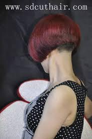 redhair nape shave 111 best shaved nape images on pinterest short bobs short