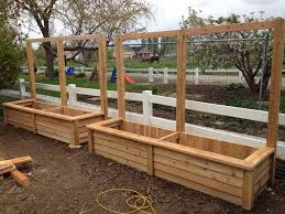 trellis with planter recent projects is fence gardening pinterest fences