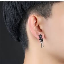 cool ear rings online shop skull earrings for women stainless steel earings