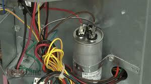 ac dual capacitor wiring diagram ac start relay beauteous air