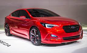 gmc sedan concept subaru impreza sedan concept revealed u2013 news u2013 car and driver