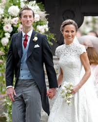 pippa middleton wedding giles deacon dress is a success with