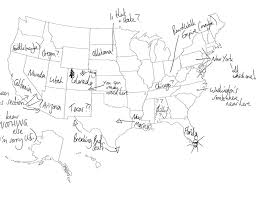 map of 50 us states with names 22 brits try to label every state in america weknowmemes