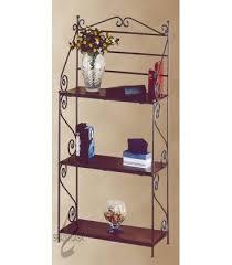 etagere legno etagere con funzionalit罌 di scaffale o libreria o portaoggetti