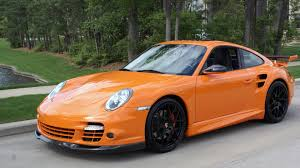 porsche 911 orange 2008 porsche 911 twin turbo s143 1 houston 2015